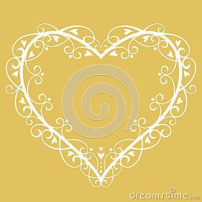 Vector wedding Background