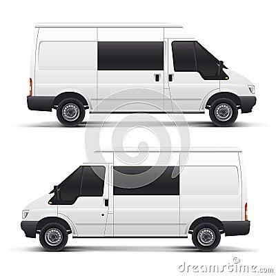 Free Vector White Auto Car Stock Photos - 6001213