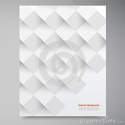 Free Vector White Squares. Abstract Backround Stock Photo - 34875490