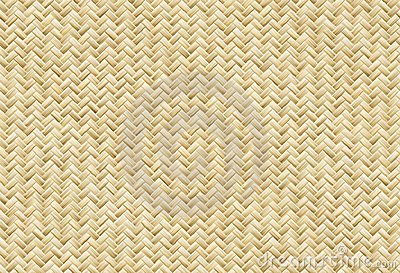 Vector Wicker Placemat Seamless