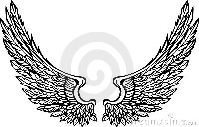 Vector Wings Eagle Graphic Image