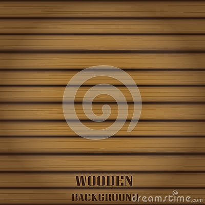 Free Vector Wooden Background For Design. Stock Photography - 35446032