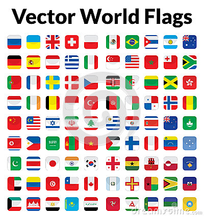 Vector World Flags