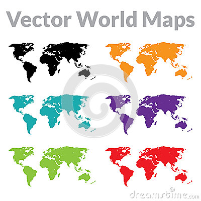 Free Vector World Map Stock Images - 31606414