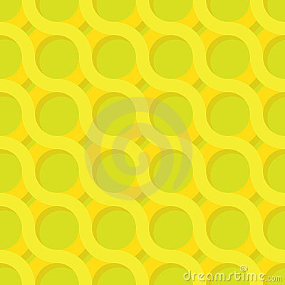 Vector yellow and green pattern
