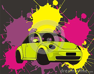 Vectorial car design