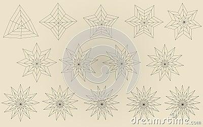 Vectorial stars