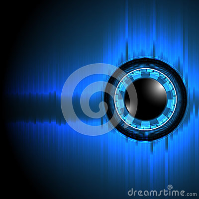 Free Vectors Background Abstract Technology Eye Stock Image - 64321951