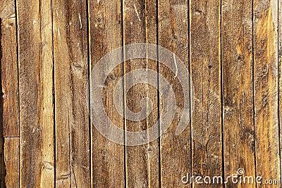 Veelvoudige doorstane houten planken