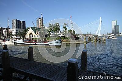 Veerhaven rotterdam Editorial Image