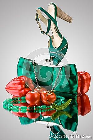 Free Veg Fashion. Stock Images - 5996014
