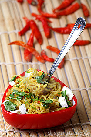 Free Veg Noodles Royalty Free Stock Images - 18444579