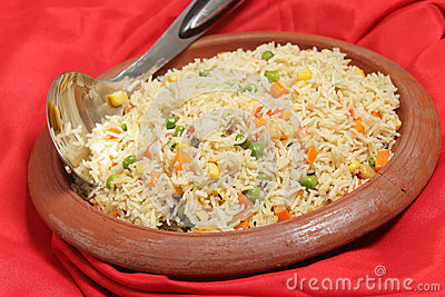 veg-pulao-rice-clay-bowl-vegetable-pilau-pulau-ethnic-indian ...