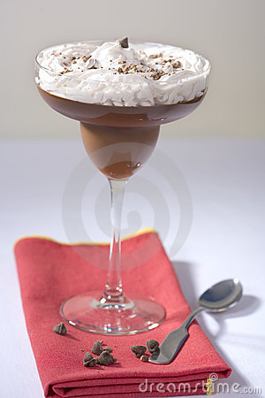 Vegan Chocolate Pudding with Soy Whipped Topping