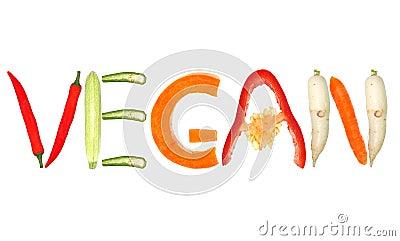 Vegan Stock Photo