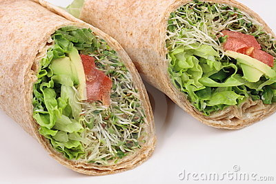 Vegan wraps special