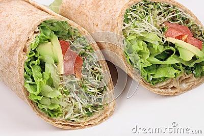 Vegan wraps special