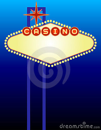 Vegas-Kasino-Zeichen