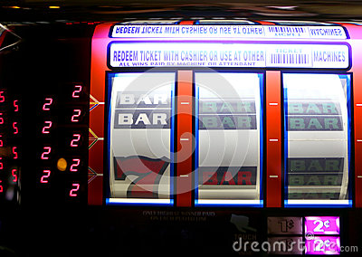 Vegas Slot Machine Editorial Stock Image