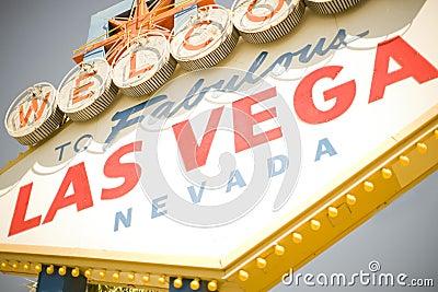 Vegas-Zeichen