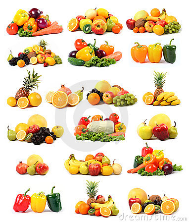 Free Vegetable And Fruit Stock Image - 8373111