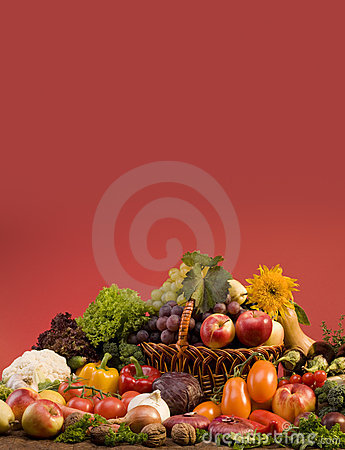 Free Vegetable And Fruits Food Still-life Stock Photography - 6716872