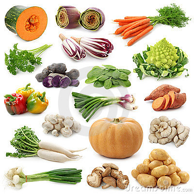 Free Vegetable Collection Stock Photography - 21466772