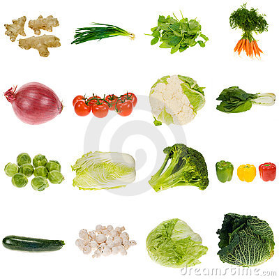 Free Vegetable Collection Stock Image - 3770451