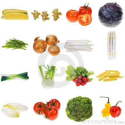 Free Vegetable Collection Royalty Free Stock Photo - 3770515