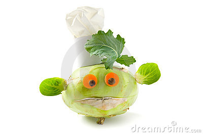 Vegetable creature