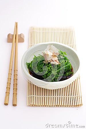Vegetable fern salad