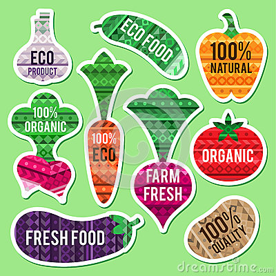 Vegetable labels