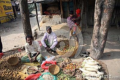 Vegetable market Editorial Photo