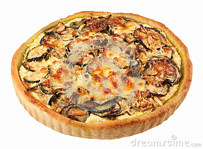 Vegetable marrow tart