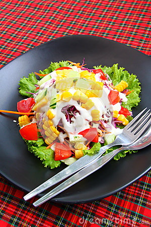 Vegetable mix salad