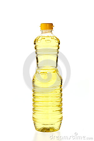 Free Vegetable Oil For Cooking In A Bottle Isolated On White Royalty Free Stock Photography - 53684827