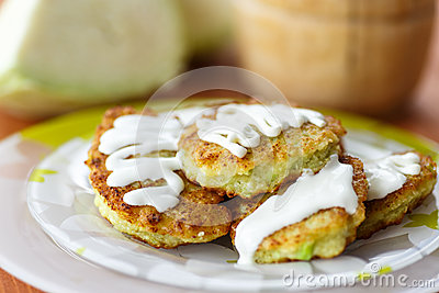 Vegetable pancakes with cabbage