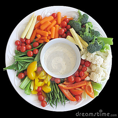 Free Vegetable Platter Stock Image - 2052831