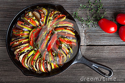 how to clean cast iron pan with baked on food