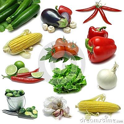 Free Vegetable Sampler Stock Photos - 6431763