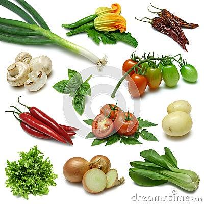 Free Vegetable Sampler Two Stock Photo - 6431640