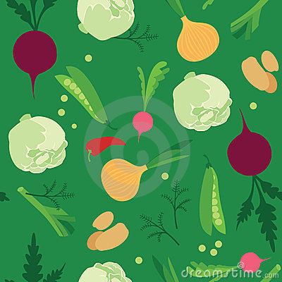 Vegetable seamless
