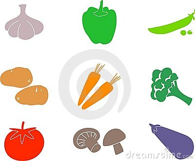 Vegetable shapes