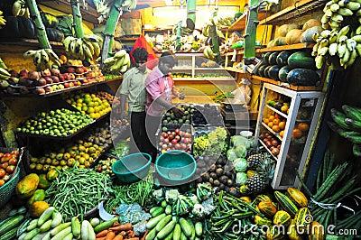 Vegetable shop Editorial Stock Photo