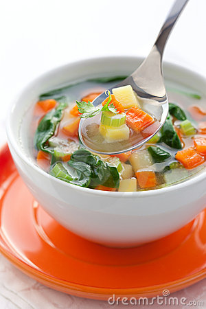 Free Vegetable Soup Stock Photography - 18219842
