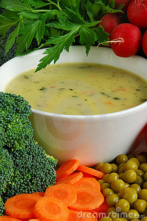 Free Vegetable Soup Stock Photos - 6565873