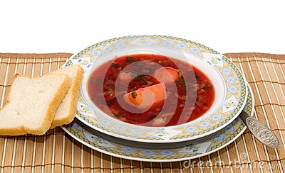 Vegetable Soup - Borscht Stock Images - Image: 20368724