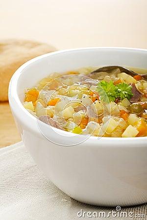 Vegetable Soup Scotch Broth