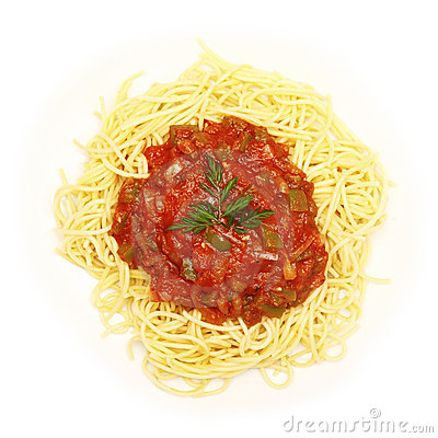 Vegetable Spaghetti Stock Photos - Image: 18289293