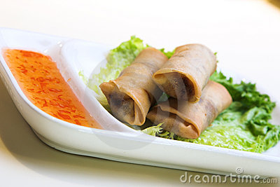Vegetable Springrolls